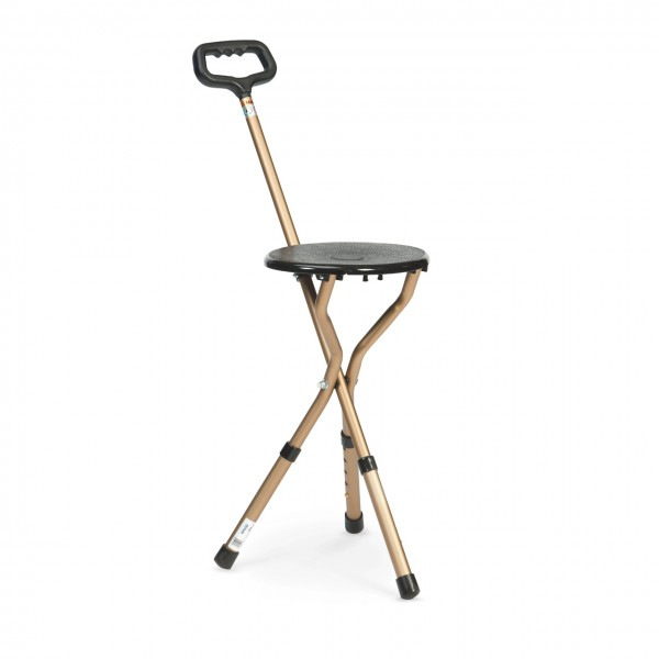 Cane with integrated Seat
